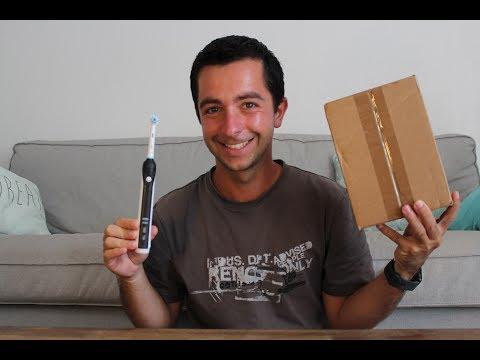 Nouveau cadeau + test de la brosse à dent électrique Oral B !