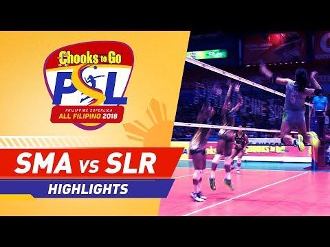 [Sport5]  Highlights: Smart vs. Sta. Lucia | PSL All-Filipino Conference 2018
