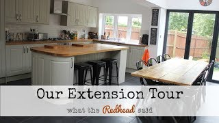 Our Ground Floor Extension Tour - Kitchen/Dining Room/Utility/Toilet - Industrial Style