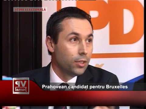 Prahovean candidat pentru Bruxelles