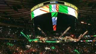 UFC 205 Conor Mcgregor Entrance
