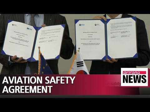 Transport ministry and European air safety agency sign MOU on aviation safety