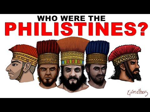 Wie waren de Filistijnen? (Geschiedenis van de Filistijnen uitgelegd)