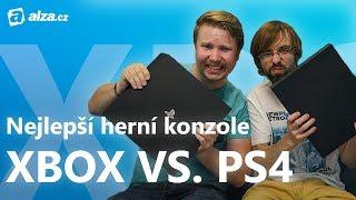 Xbox One X vs. PlayStation 4 Pro   Vybíráme nejlepší herní konzoli   Alza.cz