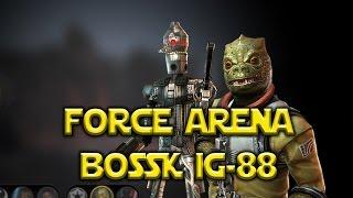 Star Wars: Force Arena - Bossk & IG-88 Aurodium Gameplay