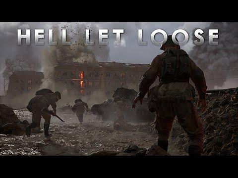 《Hell Let Loose》二戰第一人稱射擊遊戲,百人大型戰場