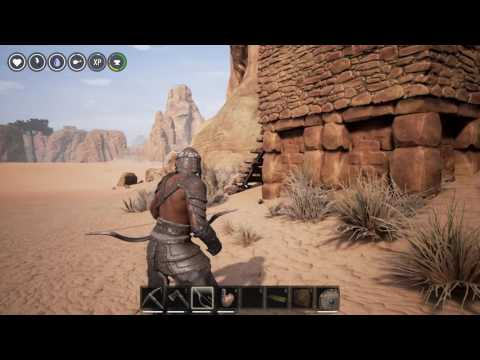 Conan Exiles - How to Make and Use the Bow and Arrows