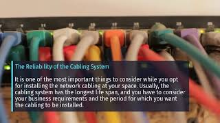 What are the Tips for Network Cabling Installation Dubai?