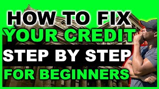 How to Fix My Credit in 2020   Step by Step FREE   For Beginners & Experienced 🔴