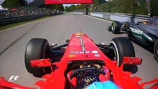 Alonso And Hamilton's Epic Battle | 2013 Canadian Grand Prix - dooclip.me