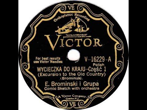 Polish 78rpm recordings, 1932. VICTOR V-16229. Wycieczka do kraju / Zabawa na okręcie