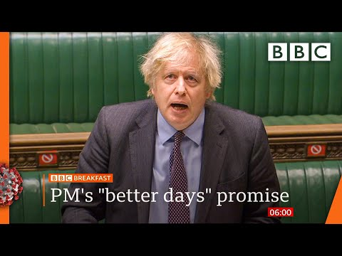 Covid-19: Boris Johnson promises 'one-way road to freedom' ???? @BBC News live - BBC