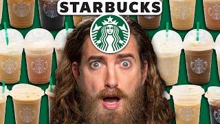 We Try EVERY Starbucks Iced Coffee