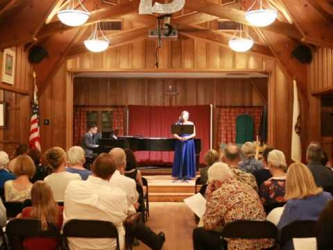 Enjoy this performance from a recent opera concert.