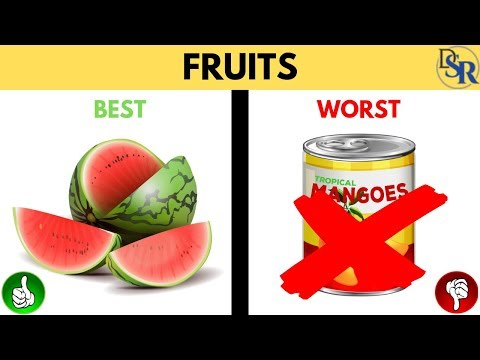 🍈 Discover the Best & Worst Fruits To Eat & Avoid