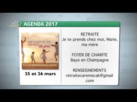 Agenda du 6 mars 2017