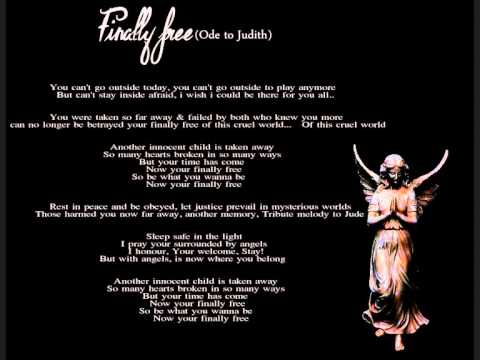 Finally free (Ode to Judith) By Lanny C