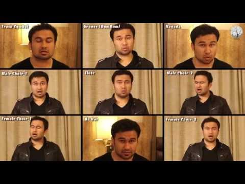 Acapella arrangement of A.R. Rahman composed - 'Tum Todo Na' from movie 'I'
