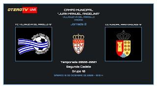 R.F.F.M. - SEGUNDA CADETE (GRUPO 10) - Jornada 2 - F.C. Villanueva del Pardillo 3-1 C.D. Municipal Arroyomolinos