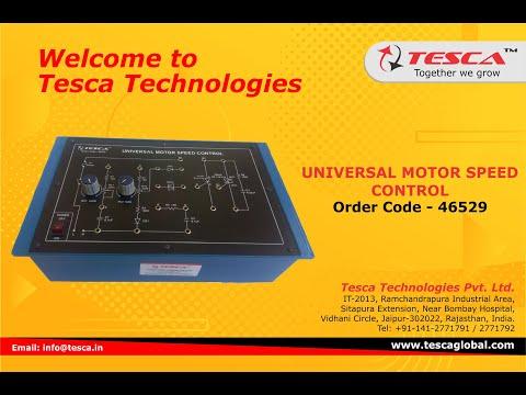 Universal Motor Speed Control