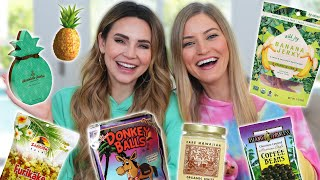 TRYING FUN HAWAIIAN TREATS w/ iJustine! thumbnail