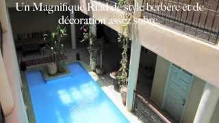 preview picture of video 'Riad Taroudant, un îlot de tranquillité'