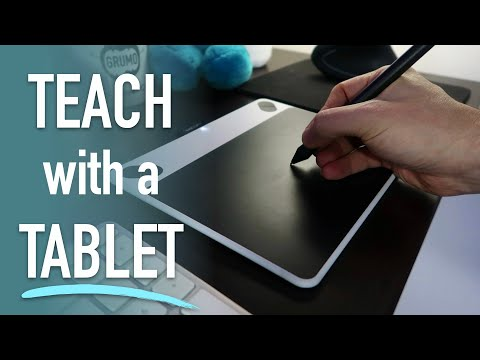 Teach with a Tablet (Full Tutorial + Demo)