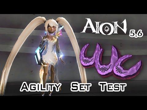 Aion 5.6 - Agility Set Test - Myth or True?