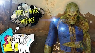 FALLOUT 5 NEW PLAYABLE RACES !! - PRE WAR WISHES