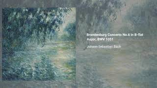 Brandenburg Concerto No. 6 in B-flat major, BWV 1051