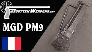 MGD PM9 Rotary-Action Submachine Gun