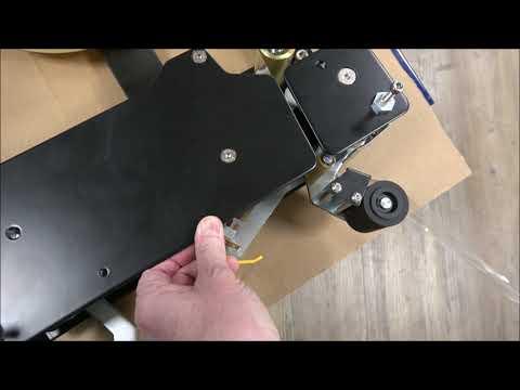 CT 103 SD: Tape plaatsen