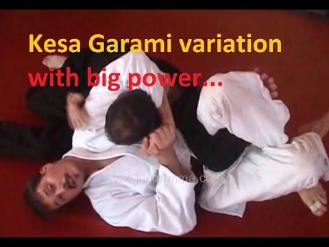 Kesa Garami  arm lock variation - devastating range of motion