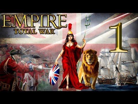 Прохождение Empire: Total War за Британию. 1Серия