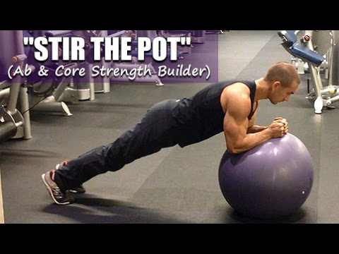 Stir the Pot on Exercise Ball