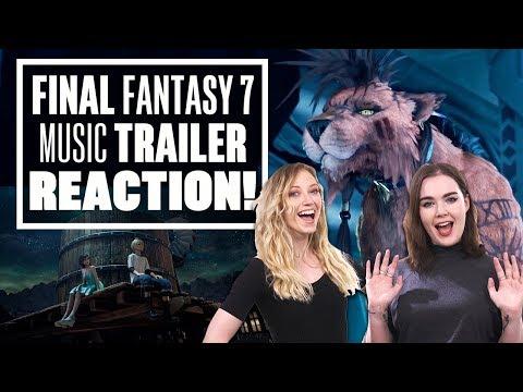 Final Fantasy VII Remake Music Video Trailer Reaction: Let's Watch Final Fantasy 7 Remake Trailer