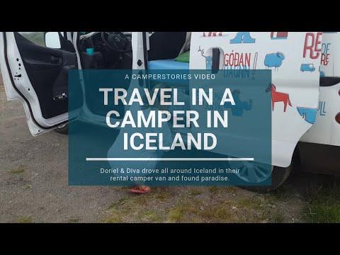 Travel in a camper in Iceland - CamperStories