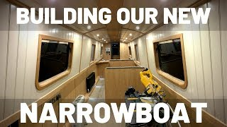 Building Our New Narrowboat. Fit-Out is Almost Complete!