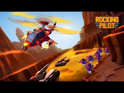 Rocking Pilot - Official Trailer for new Shoot em Up by Mad Head Games thumbnail
