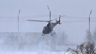 AS350 RA-07272  вылетает из Хелипорт-Москва