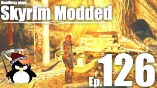 Kodlaks funeral and the Friendly Animals of Skyrim - Skyrim Modded Ep 126