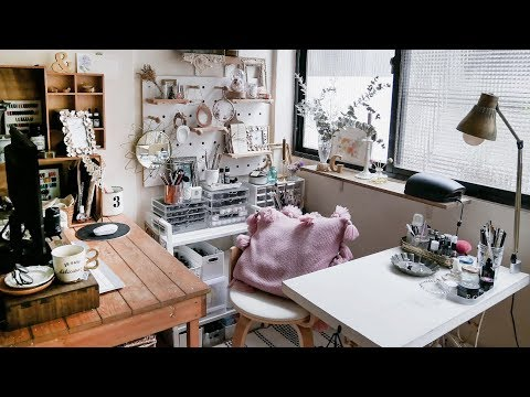 [ Studio Tour ]#1 work space 美甲工作區