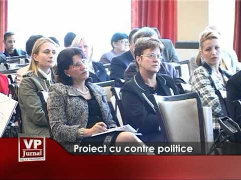 Proiect cu contre politice