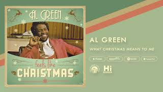 al green what christmas means to me official audio