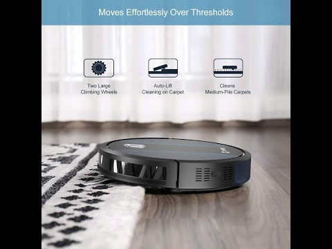 Coredy Robot Vacuum Cleaner, Fully Upgraded, Boundary Strip Supported, 360° Smart Sensor Protection