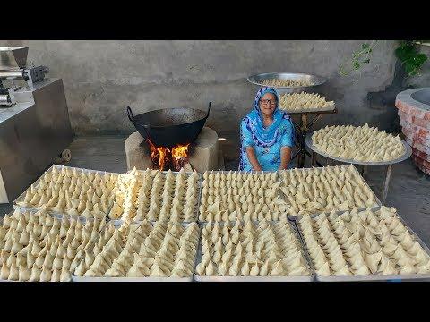 1000 SAMOSA RECIPE BY MY GRANNY   STREET FOOD   INDIAN RECIPES   PERFECT SAMOSA   POTATO RECIPES