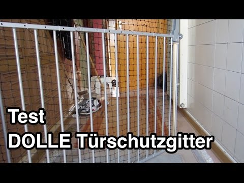 Test DOLLE Türschutzgitter | Treppenschutzgitter Test | Türgitter | Treppengitter