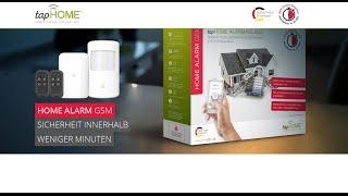 tapHOME Alarm GSM - Installation und erste Schritte