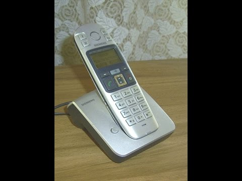 Funktionsprüfung Siemens Gigaset E360 Senioren Telefone,Cordless telephone