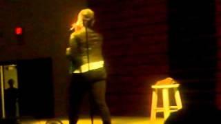 CHRISETTE MICHELE SINGING PORCELAIN DOLL @ ALBANY STATE UNIVERSITY  1 (4-1-2010)